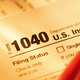 Form 1040 with red pen for US tax declaration - PhotoDune Item for Sale