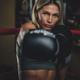 Portrait of experienced female boxer - PhotoDune Item for Sale