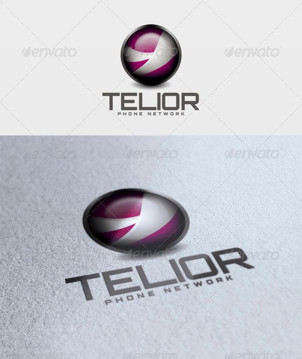 Telior Logo - 3d Abstract