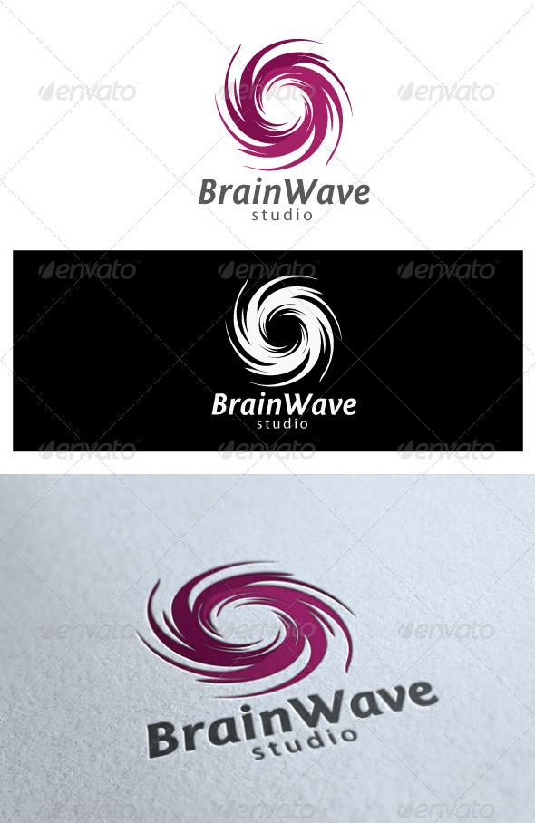 Brainwave logo - Symbols Logo Templates