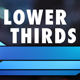 Sharp Lower Thirds (Five Pack) - VideoHive Item for Sale