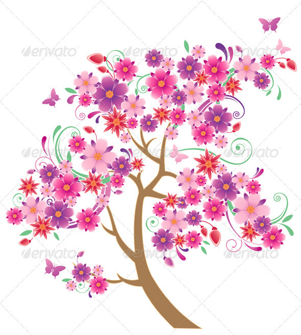 Flowering Tree - Flowers & Plants Nature