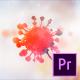 Corona Virus Logo Reveal – Premiere Pro - VideoHive Item for Sale