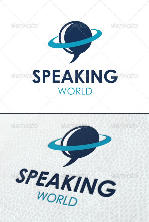 Speaking World - Symbols Logo Templates