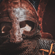 Ols rusted ancient helmet with human skull - PhotoDune Item for Sale