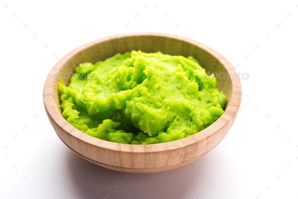 Wasabi Sauce - Stock Photo - Images