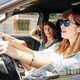 Woman in sunglasses driving car - PhotoDune Item for Sale