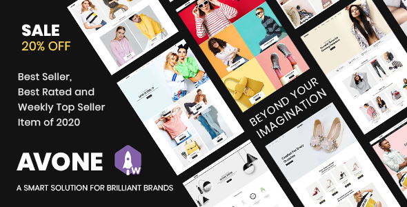 Avone - Multipurpose Shopify Theme Nulled