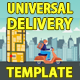 Food Delivery Service promo - VideoHive Item for Sale