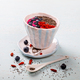 Berry Smoothie in the  bowl with berries.Detox. Breakfast Pudding - PhotoDune Item for Sale