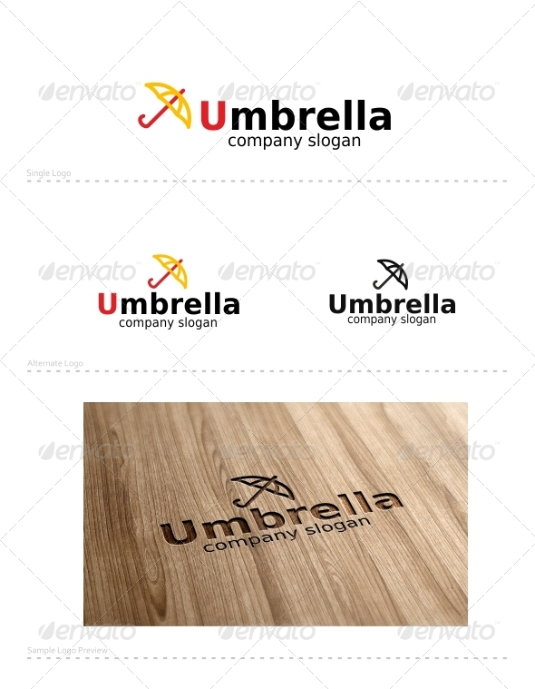 Umbrella - Symbols Logo Templates