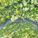 Aerial drone photo through majestic river - PhotoDune Item for Sale