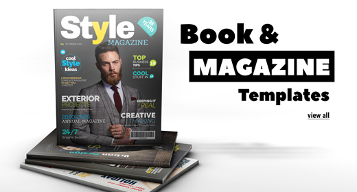 Book and Magazine Templates