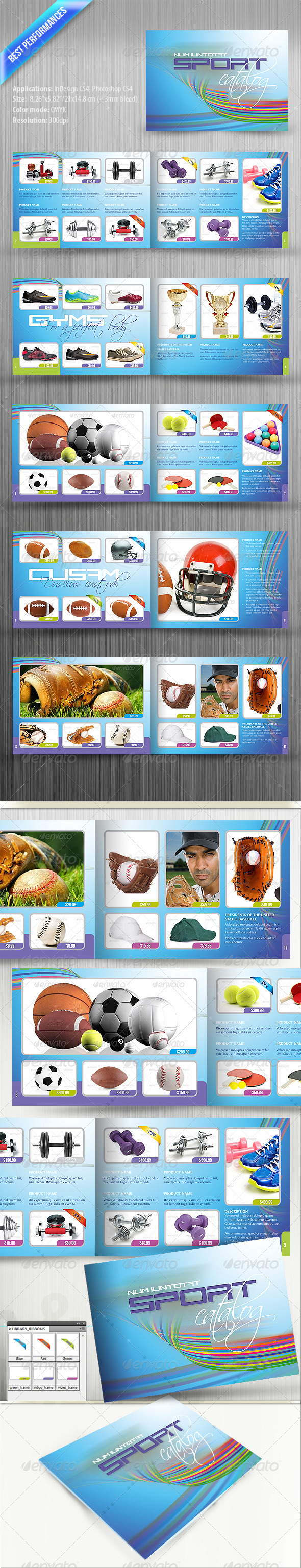 Sport Catalog - Catalogs Brochures