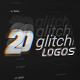 20 Glitch Logo Pack - VideoHive Item for Sale