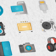 Electronic Devices Modern Flat Animated Icons - VideoHive Item for Sale