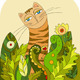 Cat Head Grass - GraphicRiver Item for Sale
