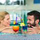 Happy couple relaxing at wellness spa center - PhotoDune Item for Sale
