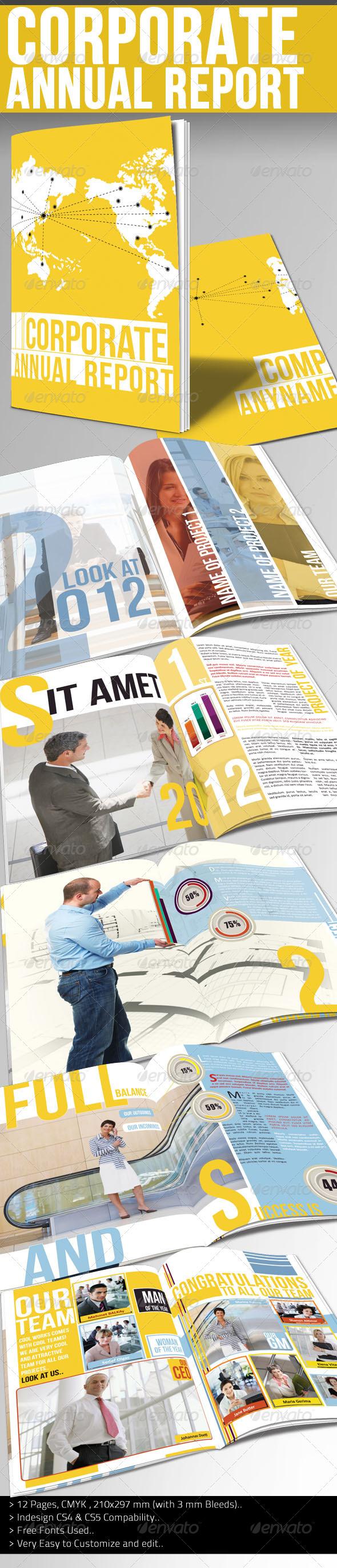 Corporate Annual Report I - Corporate Brochures