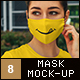 Face Mask & T-Shirt Mock-Up