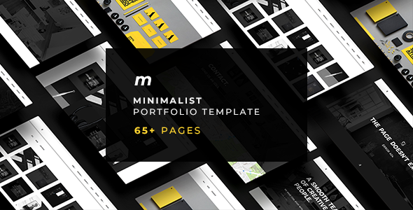 MOT - Minimalist Portfolio Template