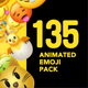 135 Animated Emoji Pack - VideoHive Item for Sale
