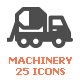 Machinery Filled Icon