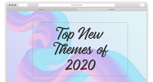 Top New Themes of 2020