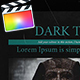 Dark Theory - VideoHive Item for Sale