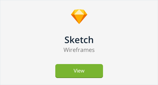 Sketch Wireframes