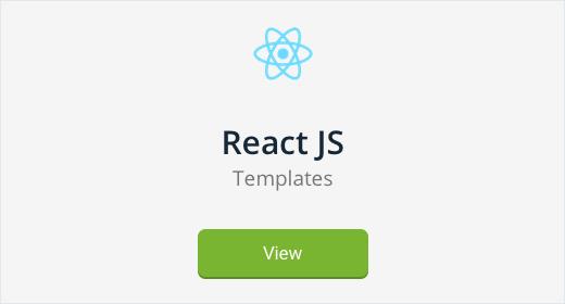 React JS Templates