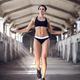 Beautiful athletic woman in sportswear workout - PhotoDune Item for Sale