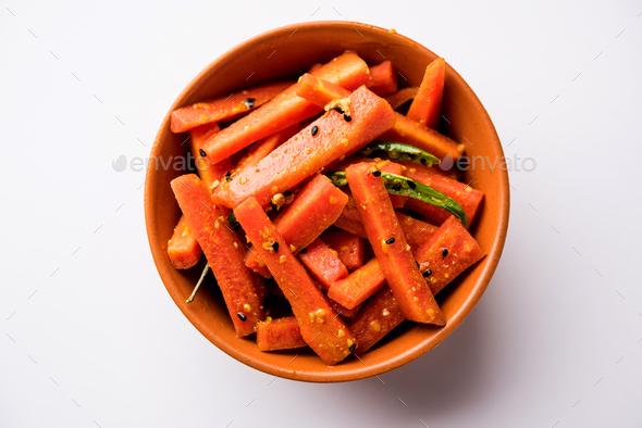 Carrot Pickle - Stock Photo - Images