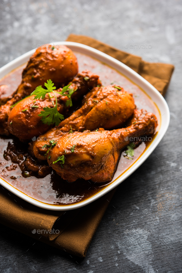 Chicken Curry - Stock Photo - Images