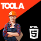 Toola | Construction Hiring Portal & Shop Html5 Template