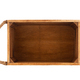 empty wooden box with rope handles on white - PhotoDune Item for Sale