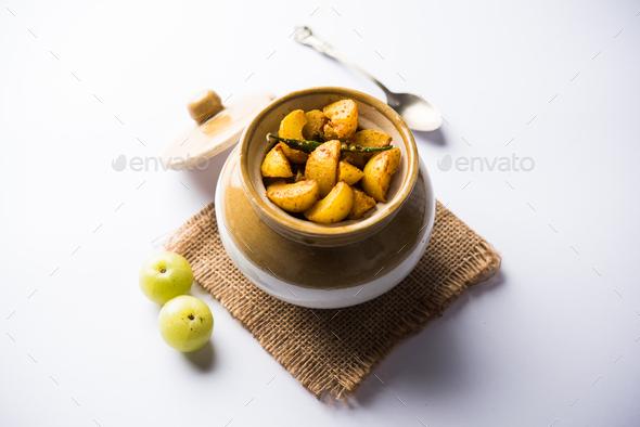 Amla Pickle - Stock Photo - Images