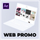 Dynamic Website Promo | Laptop Mockup - VideoHive Item for Sale