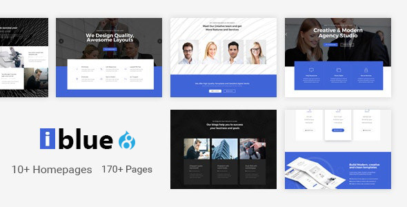 iblue – Responsive Multi-Purpose Drupal 8 Theme