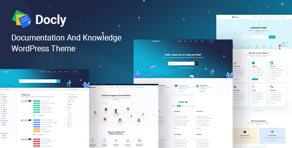 Docly - Documentation And Knowledge Base WordPress Theme with Forum