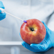 Food Safety Pesticide and Nitrate Testing of Apples in Laboratory - PhotoDune Item for Sale