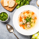 Meatballs soup with vegetables top view - PhotoDune Item for Sale
