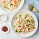Salmon pasta, tagliatelle with fish and creamy sauce. Italian dinner with seafood - PhotoDune Item for Sale