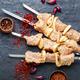 Raw pork skewers. - PhotoDune Item for Sale