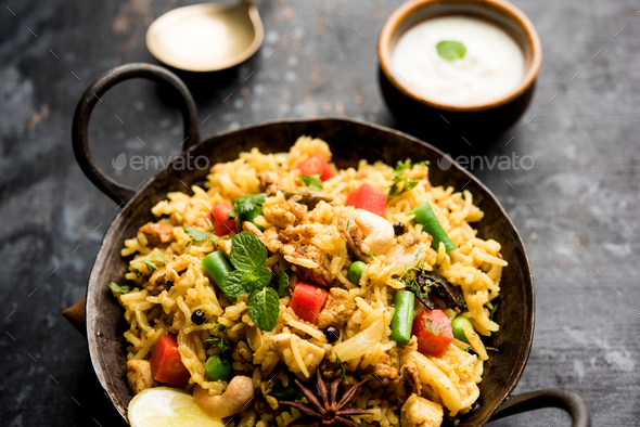 Keema Pulao - Stock Photo - Images