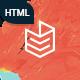 Lightbook - book author promo HTML template