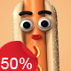 Hotdog - Character Kit - VideoHive Item for Sale