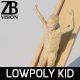 Lowpoly Kid 016