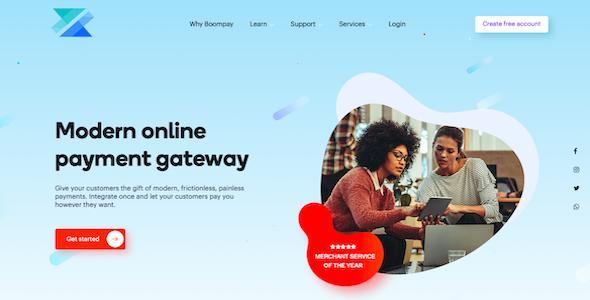 Boompay - Modern Payment Gateway