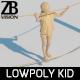 Lowpoly Kid 017